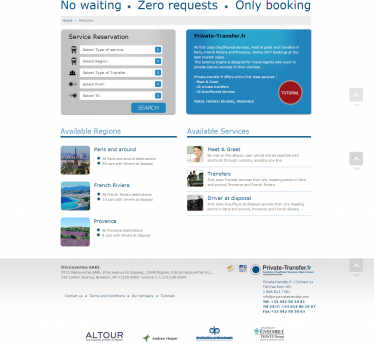 Online booking system that travel agents can trust